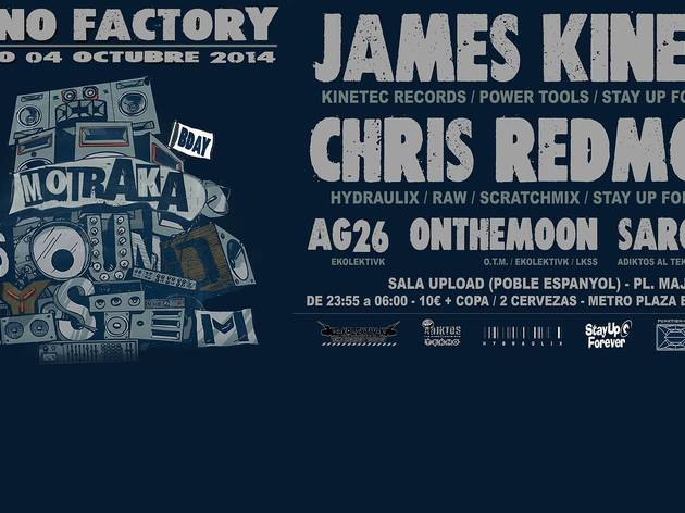 James Kinetec + Chris Redmond + Onthemoon + Saro + Rulo + AG26