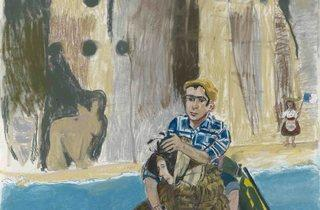 Paula Rego ('Rowing from Ericeira', 2014)