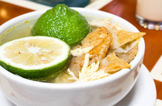 Sopa de lima (Foto: Alejandra Carbajal)