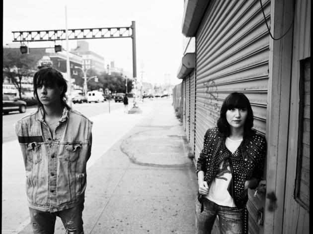 Julian Casablancas and Karen O