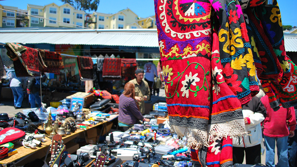 The best flea markets in the San Francisco Bay Area