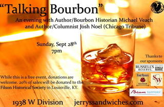 Talking Bourbon: An Evening with Michael Veach and Josh Noel