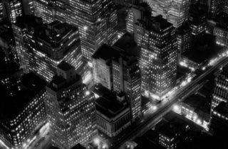 Berenice Abbott ('Night view, New York City', 1932)