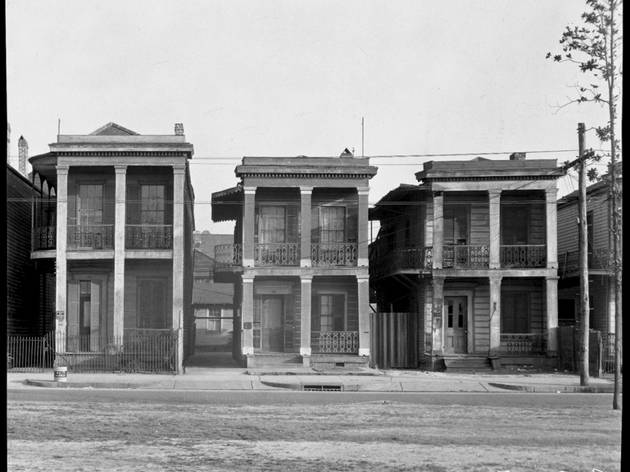 Walker Evans ('Frame Houses. New Orleans, Louisiana', 1936)