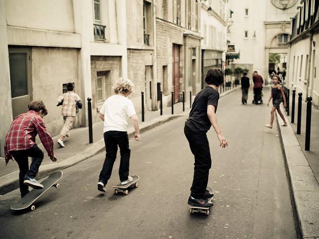 Paris Skate Boardercross