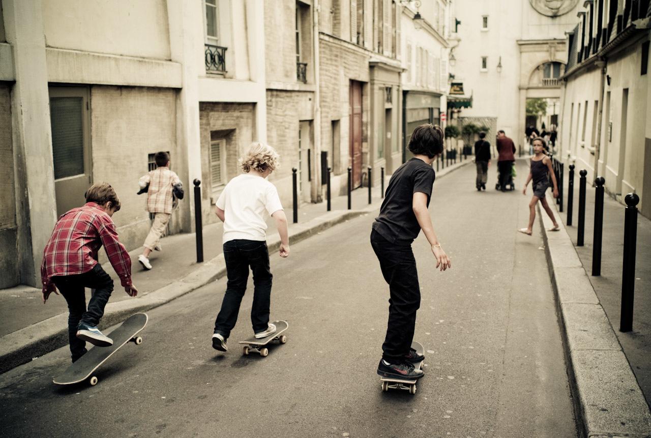 Prendre la rue comme terrain de jeu