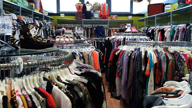 What thrift stores buy used clothes. Women clothing stores