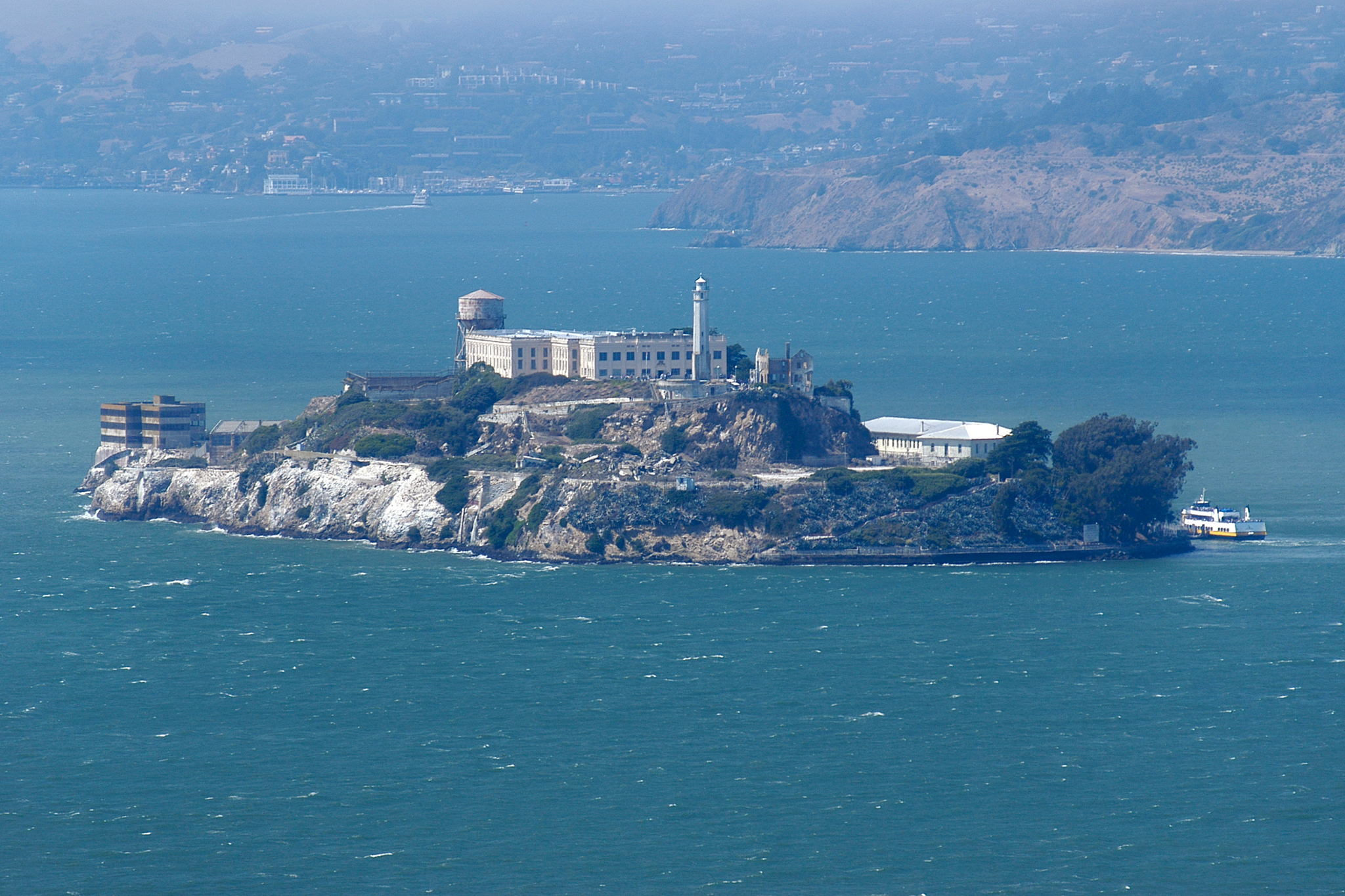 Take a night tour of Alcatraz Island