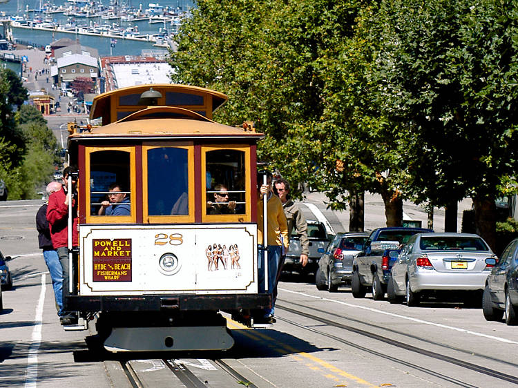 Hop the cable-car line