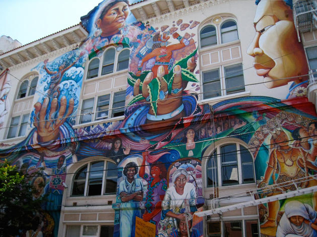 Tour the murals of the Mission