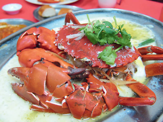 Crab at Restoran Tai Thong
