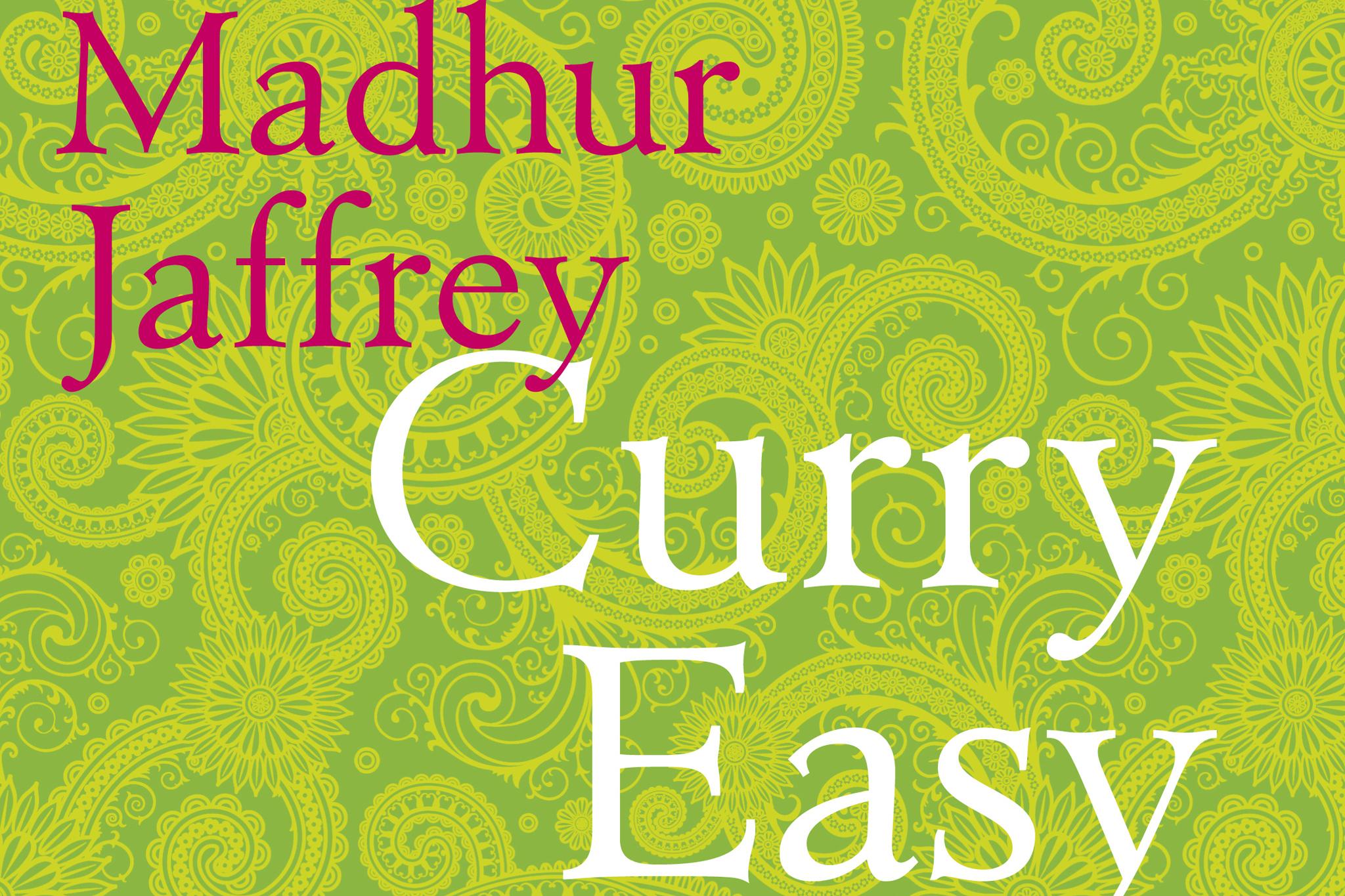 'Curry Easy Vegetarian' by Madhur Jaffrey
