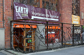 Earth Cafe, Manchester, Exterior