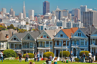 View from Alamo Square