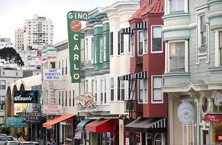 Green Street in North Beach