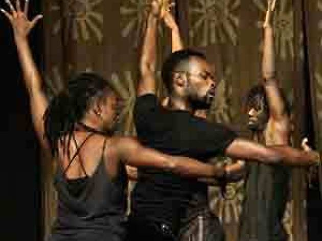 Kuyum Arts African contemporary dance Alliance Francaise, Accra, Ghana