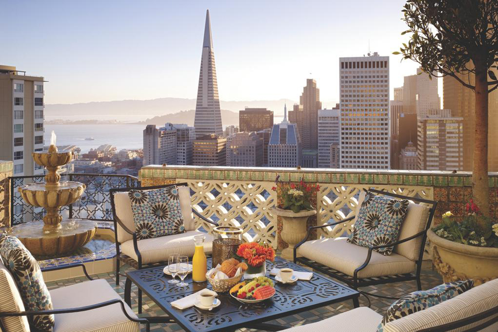 The most romantic hotels in San Francisco to keep the spark alive
