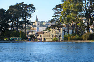 Spreckels Lake at Golden Gate Park
