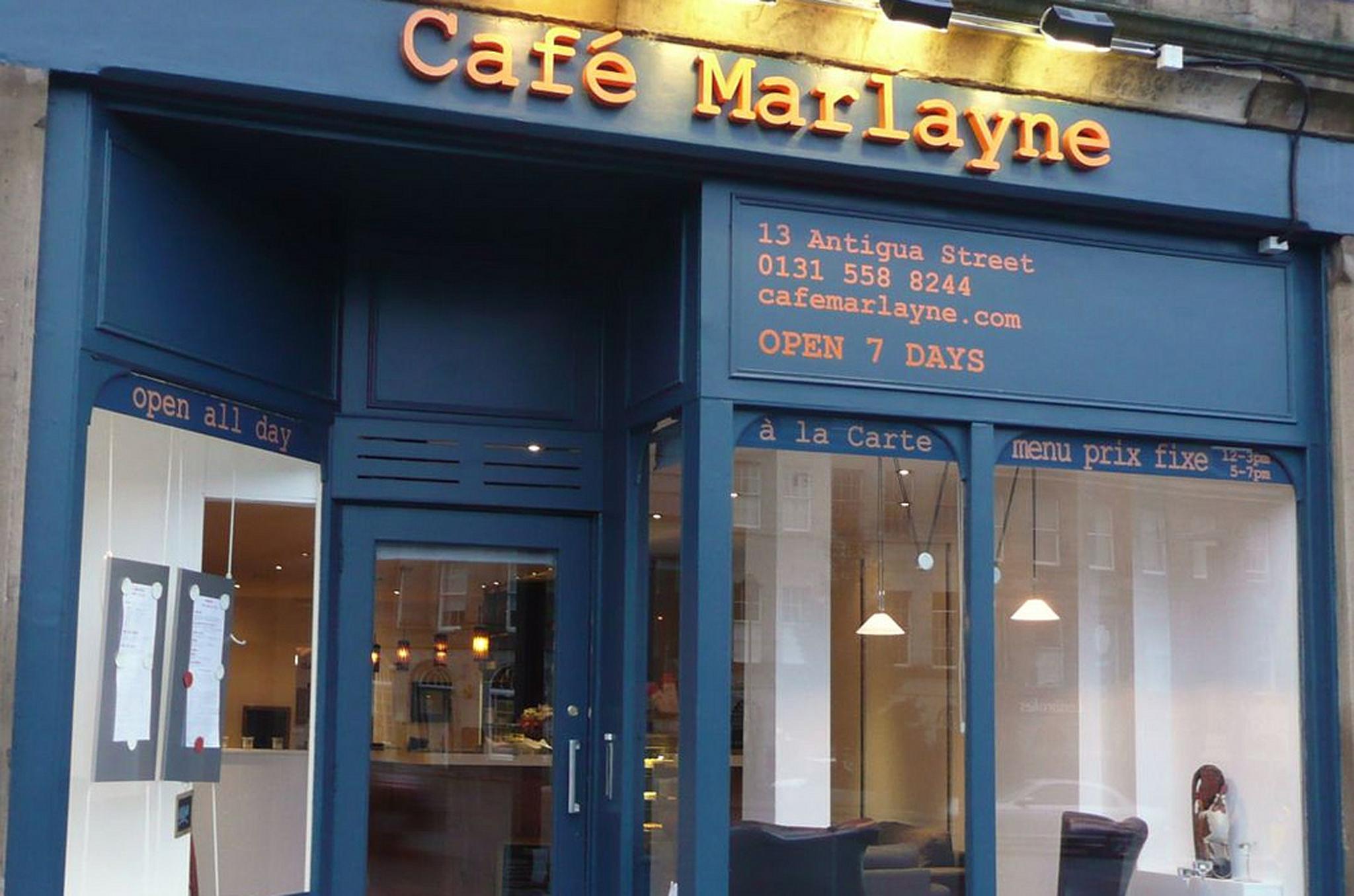 Café Marlayne, Edinburgh