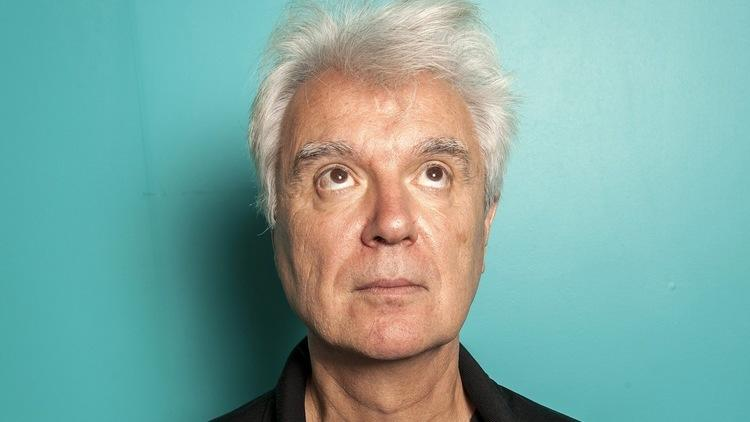 David Byrne shot at the National Theatre, Southbank, London