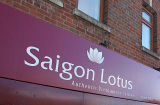 Saigon Lotus, Manchester, Sign