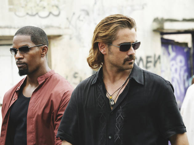 Miami Vice, 100 best action movies, Jamie Foxx, Colin Farrell