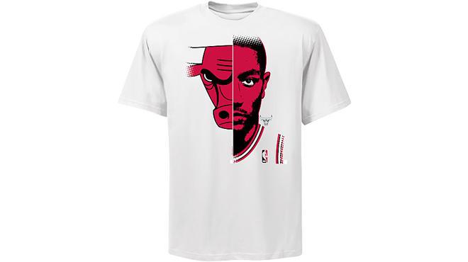 Rose-tastic Bulls shirts