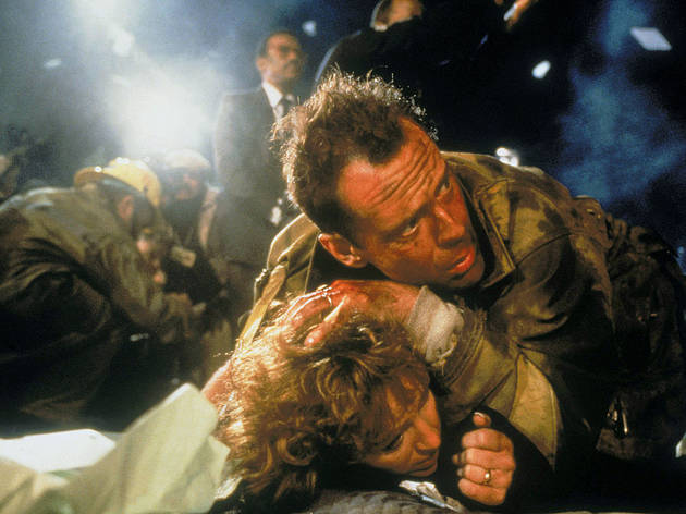 Die Hard(Left-Right) Bonnie Bedelia and Bruce Willis© 20th Century Fox