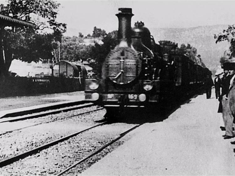"""""""The Arrival of a Train at La Ciotat"""" (1896)"""