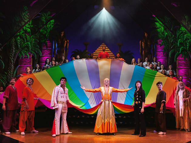 Cast of Joseph and the Amazing Technicolour Dreamcoat