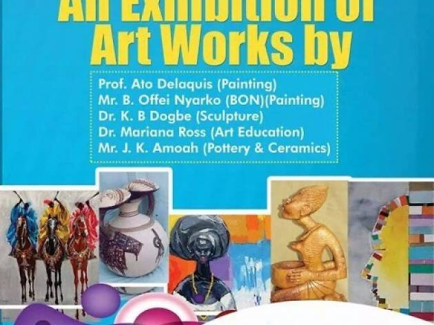 Artists Alliance exhibition Omanya House-La, Accra, Ghana