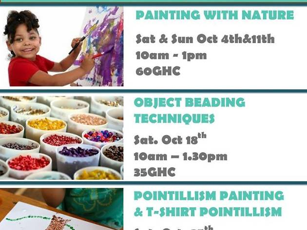 Painting workshop for kids at Alliance Francaise
