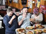 Eugene Mirman, Larry Murphy, Jon Benjamin from Bob's Burgers