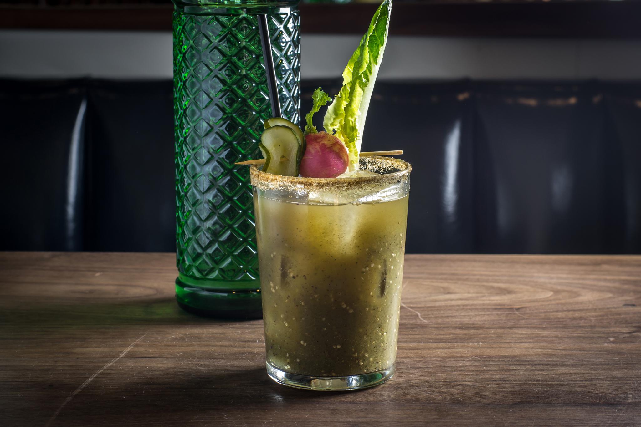 Bloody Mary at Bar Sardine