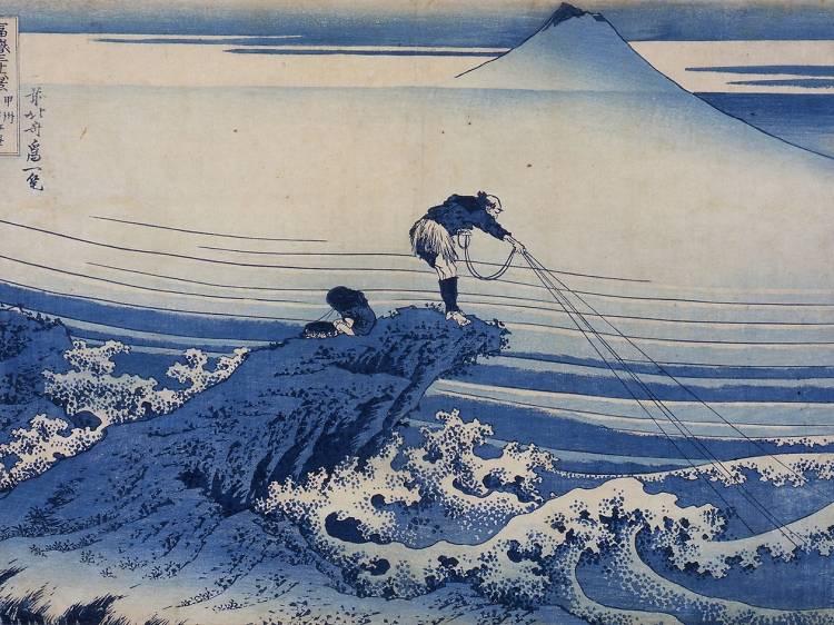 Voir la mer avec Hokusai au Grand Palais