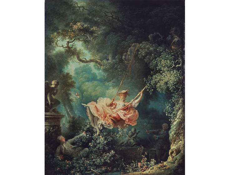 'The Swing' - Jean-Honoré Fragonard