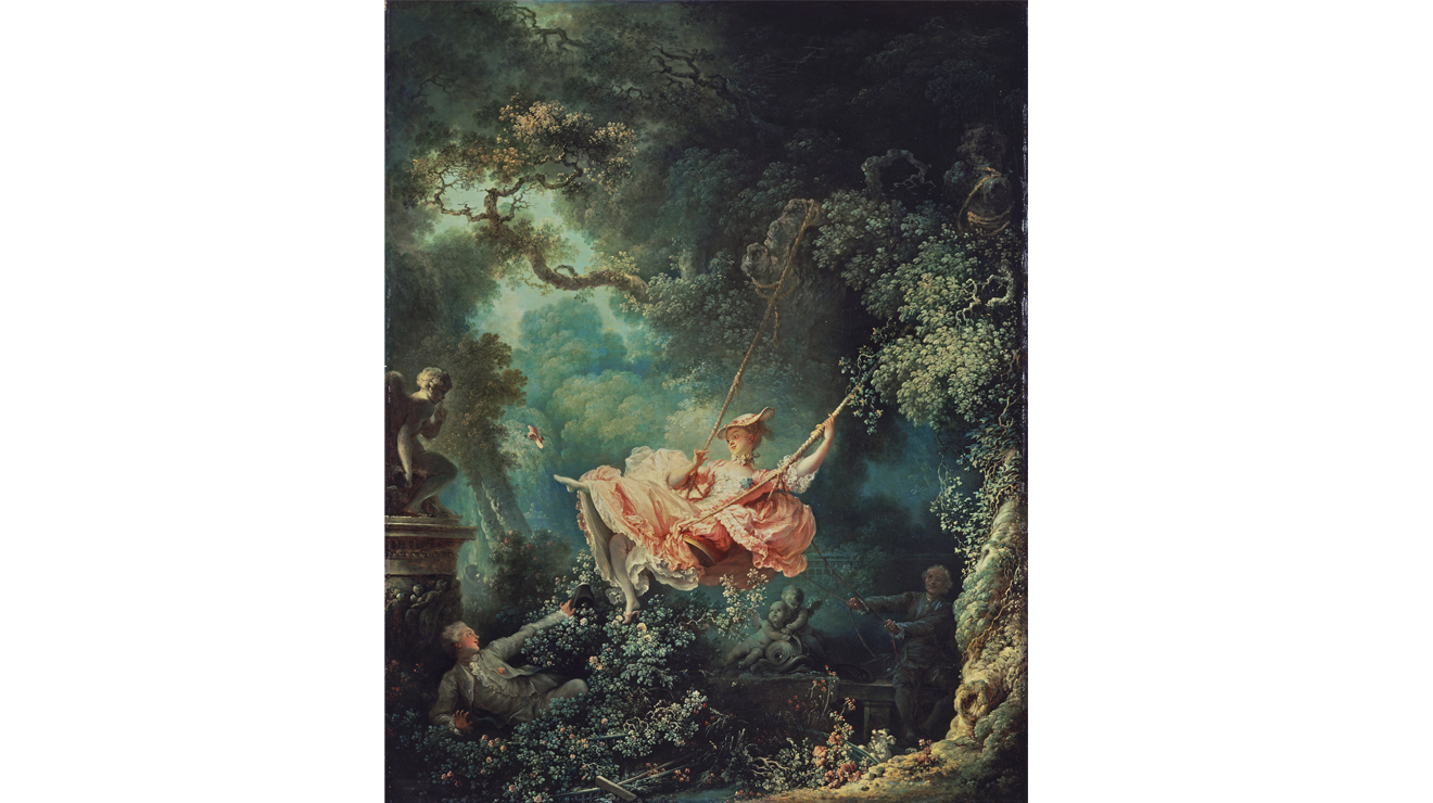 'The Swing' - Jean-Honoré Fragonard