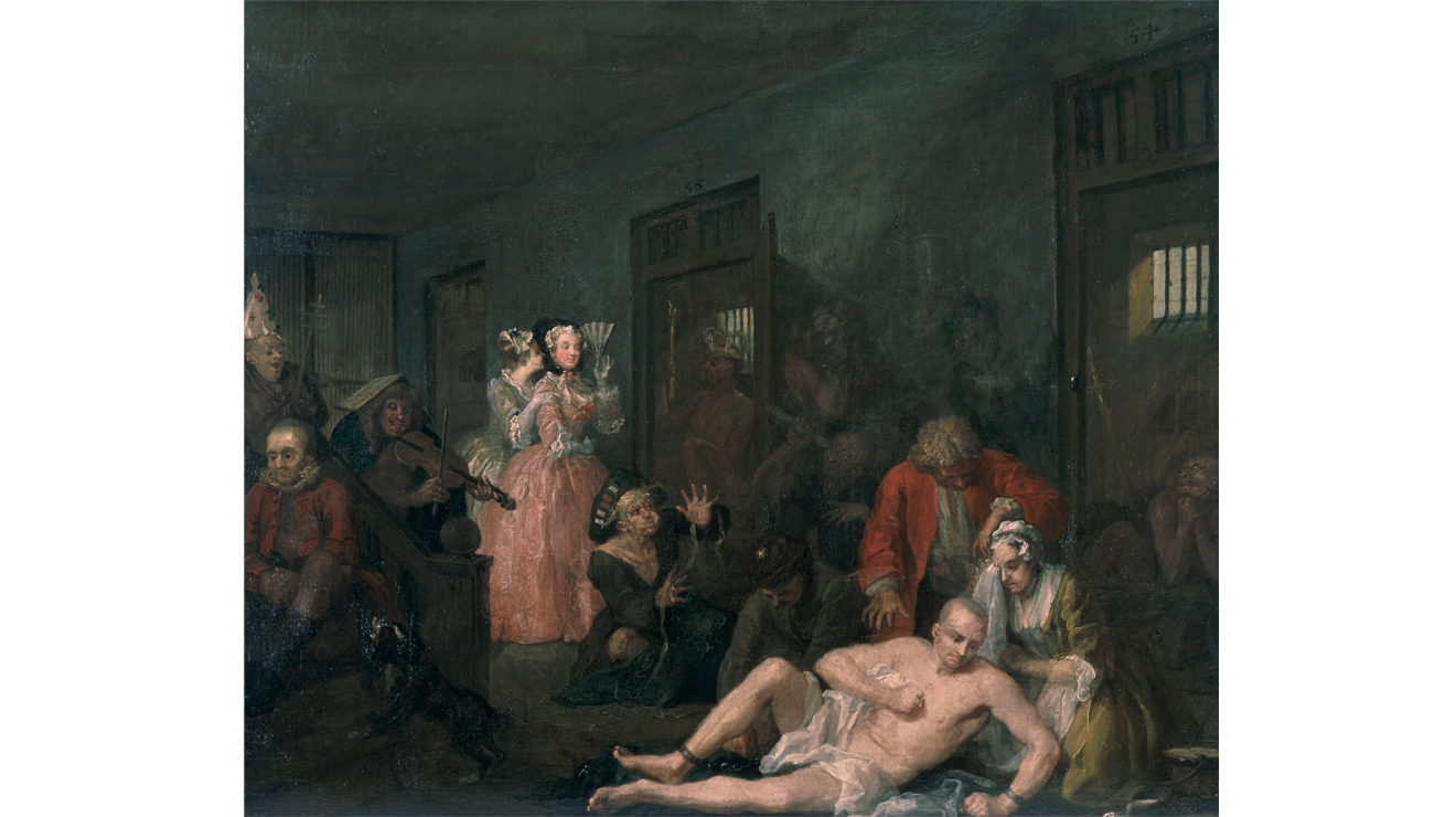 A Rake's Progress, William Hogarth