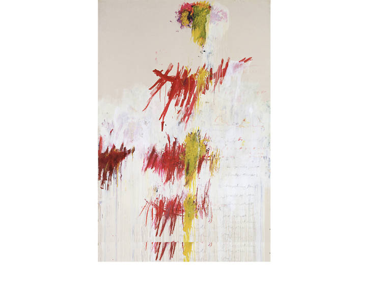 'The Four Seasons' - Cy Twombly