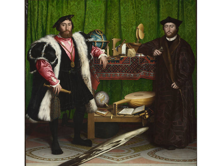 'The Ambassadors' - Hans Holbein the Younger