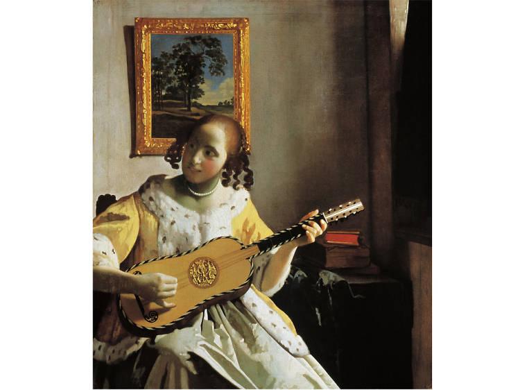'The Guitar Player' - Johannes Vermeer