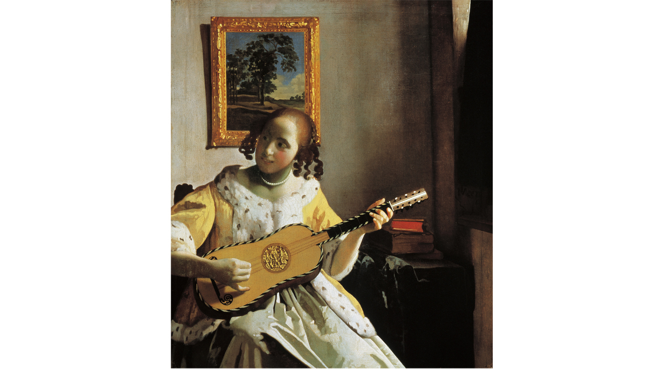 'The Guitar Player' - Johannes Vermeer