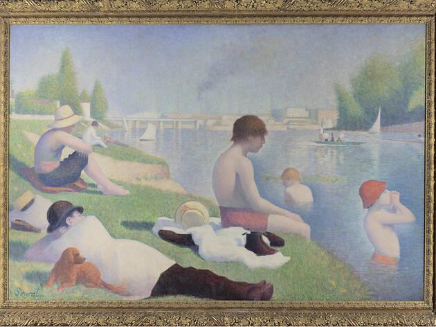 Bathers at Asnières, Georges Seurat