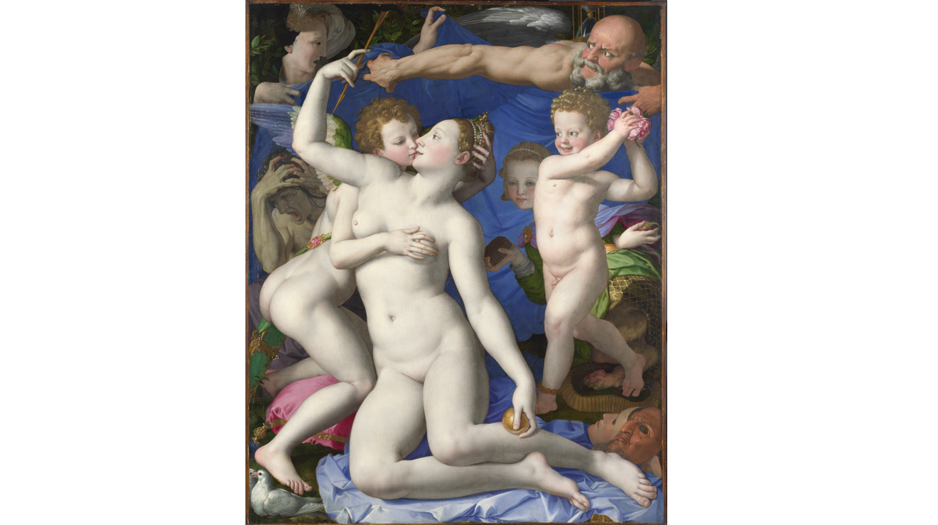 'An Allegory with Venus and Cupid' - Bronzino