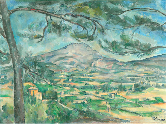 Mont Sainte-Victoire with a Large Pine, Paul Cezanne