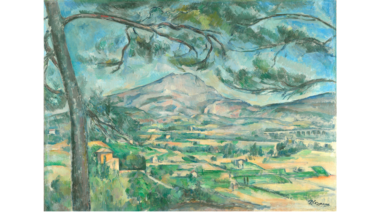 'Mont Sainte-Victoire with a Large Pine' - Paul Cézanne