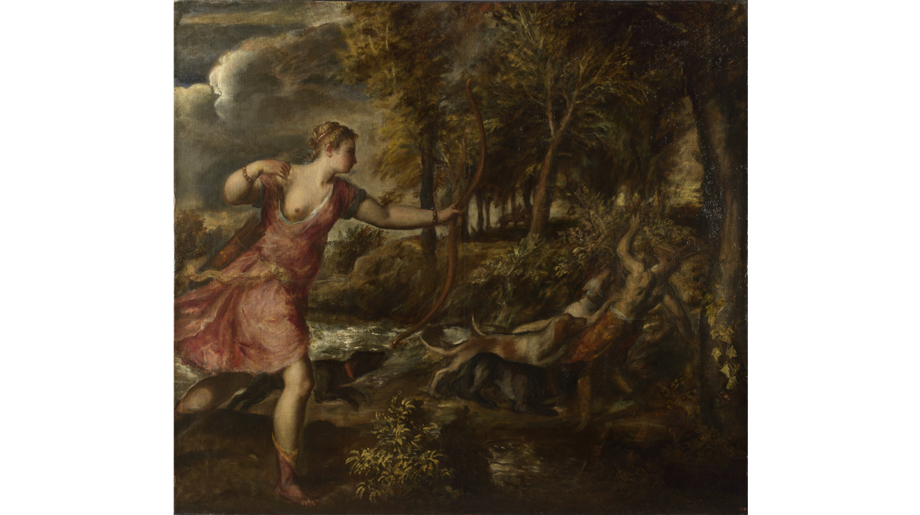 'The Death of Actaeon' - Titian