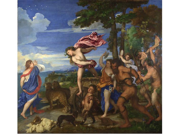 'Bacchus and Ariadne' - Titian