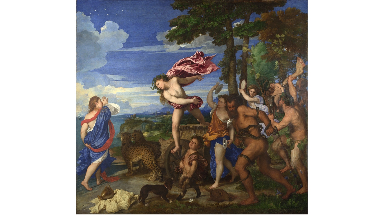 'Bacchus and Ariadne' - Titian