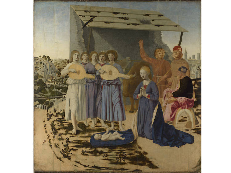 'The Nativity' - Piero della Francesca